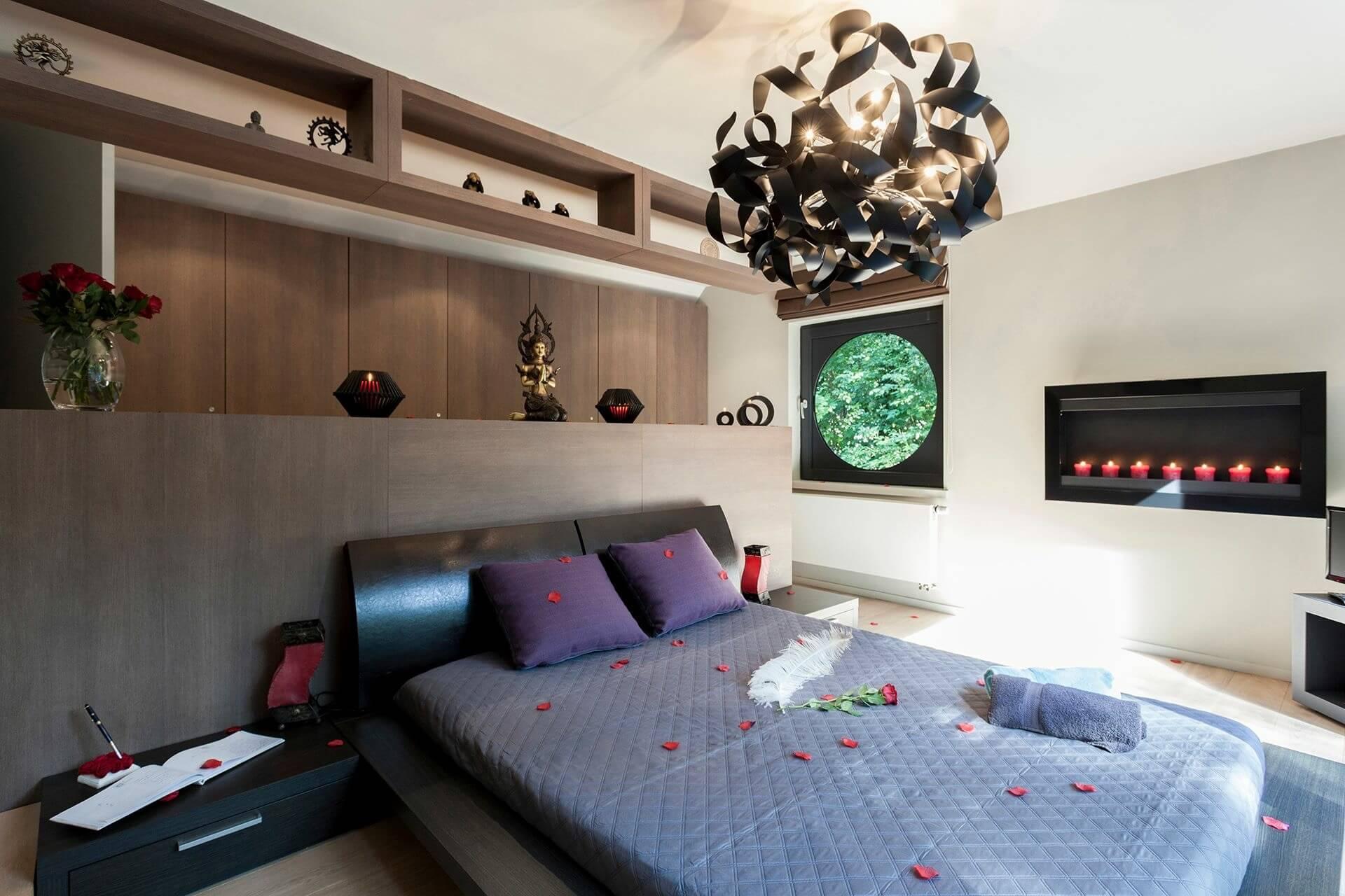 Chambre d'hôtes-villers la ville-Au-1001-nuits-chambre-à-couché