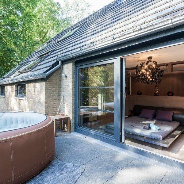 Chambre d'hôtes-villers la ville-Au-1001-nuits-sauna-extérieur-privatif