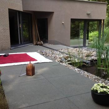 location chambre d'hôtes de luxe - terrasse extérieur
